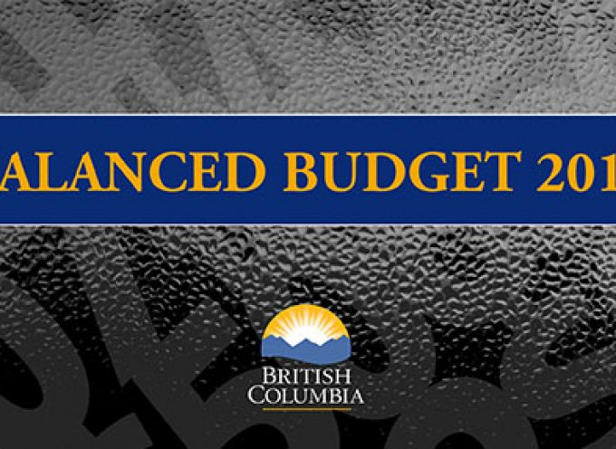 The BC Budget 2014