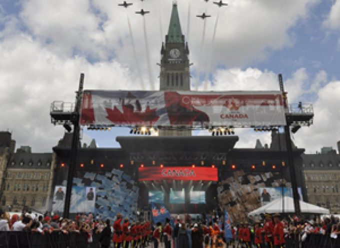 Canadian Government Calls for Suggestions for Canada's 150th Anniversary Celebration