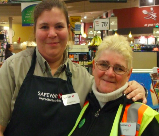 Tracy-Jo at Safeway