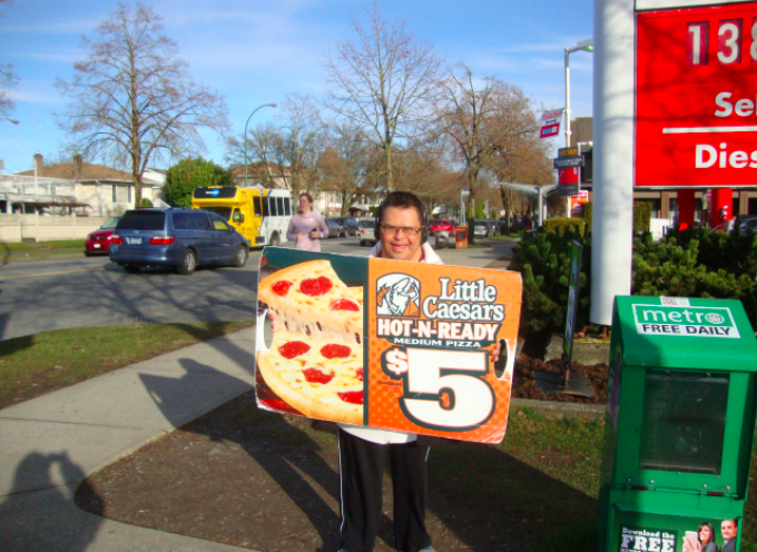 Employment Success Story: Daryl and Little Caesar's Pizza