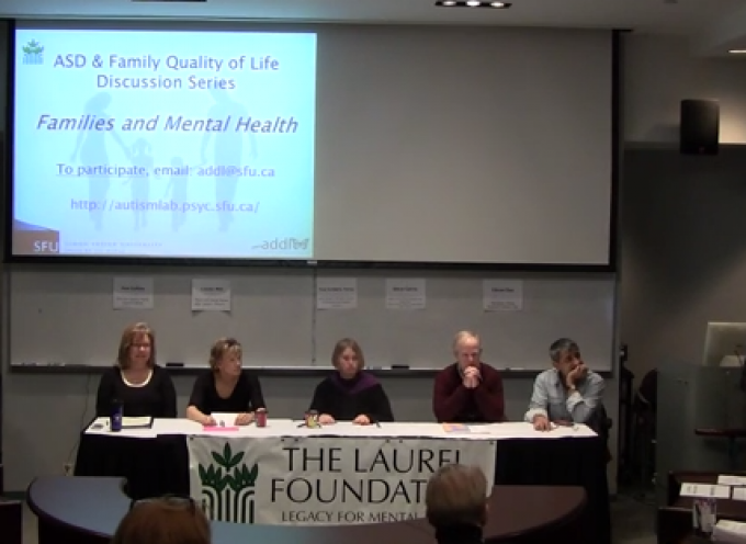Autism and Developmental Disorders: Quality of Life Discussion Series
