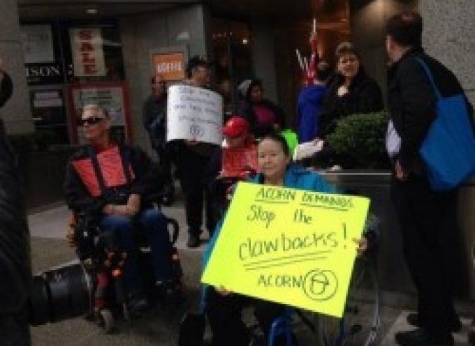 Disabled mothers in BC rallying against child support clawbacks