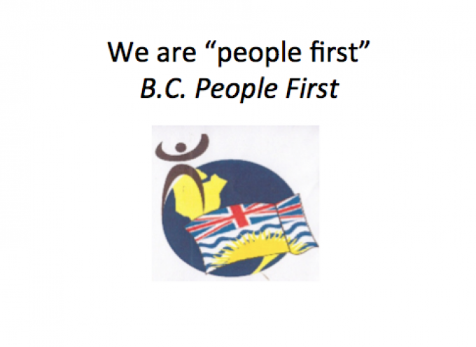 B.C. People First Looking for Advisor position
