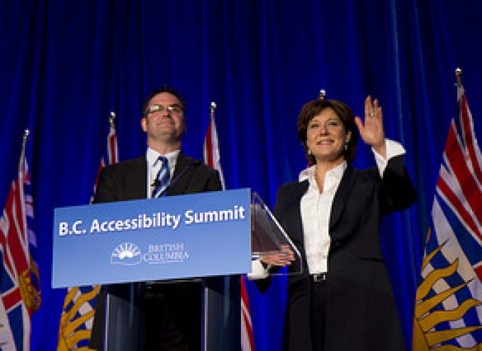 Premier unveils made-in-B.C. accessibility strategy