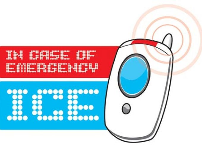 "JP's Safety Tips: ICE campaign – ""In Case of Emergency"""