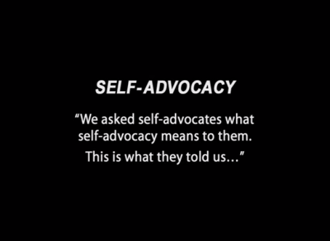 Self-Advocacy – National Gateway to Self-Determination