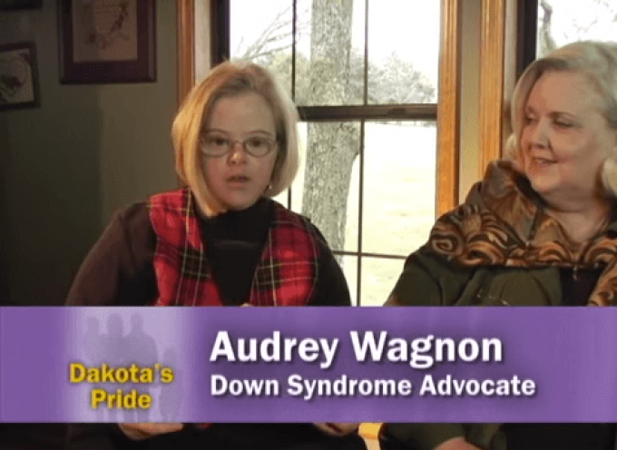 Audrey Wagnon, Self-advocate with Down syndrome