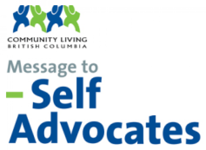 CLBC  Message to Self Advocates