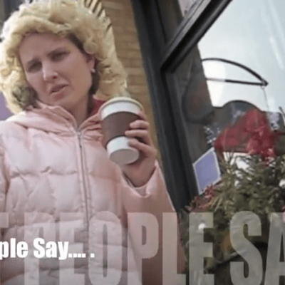 People Say to People with Disabilities