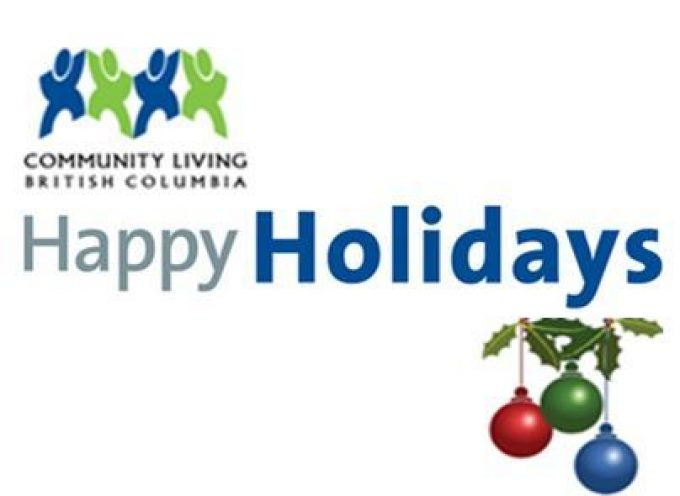 Holiday Message from CLBC CEO Seonag Macrae and Self Advocate Advisor Jessica Humphrey