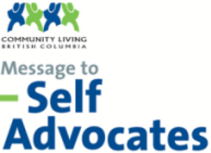 Messenge to Self Advocates