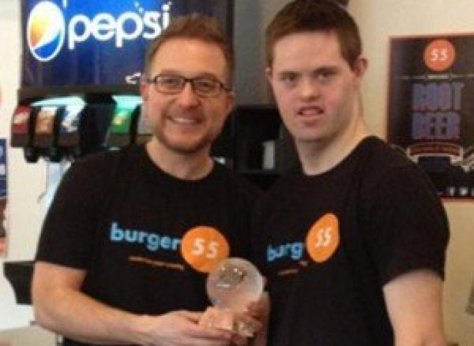 Burger 55 recognized with Inclusive Employer Award