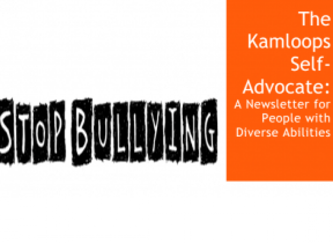 Febuary Edition of The Kamloops Self-Advocate Newsletter 2015