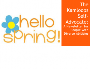 hello spring kamloops newsletter 2