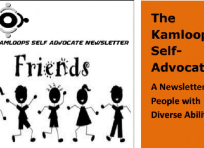The Kamloops Self Advocate July Newsletter 2015