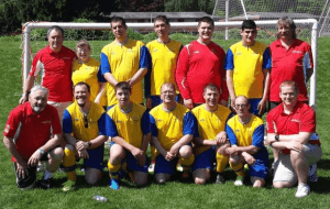 mission special olympics soccer team