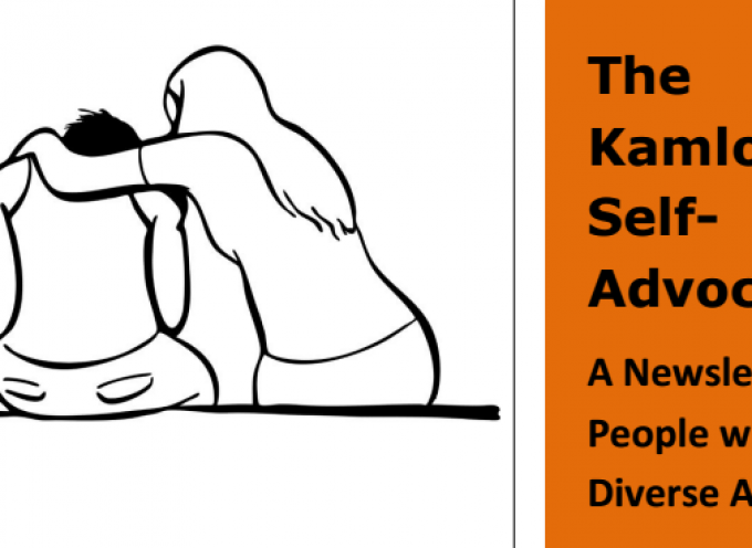 The Kamloops Self Advocate Newsletter August 2015