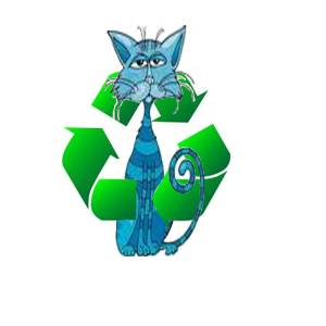 Blue Cat Recycle logo 1