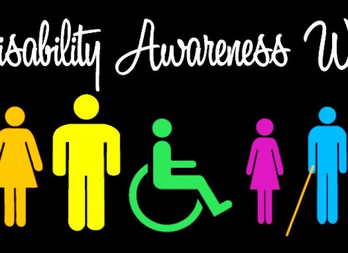 Disability Awareness Week – May 29th to June 4th