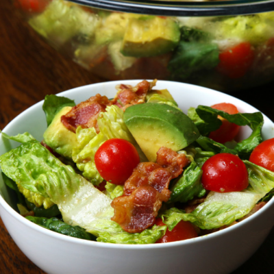 This Salad was made for the BLT Lover in all of Us!