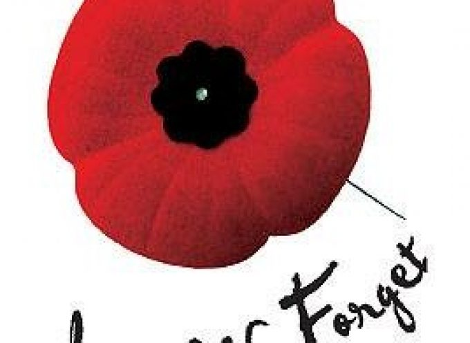 Remembrance Day On Nov 11 ,2016