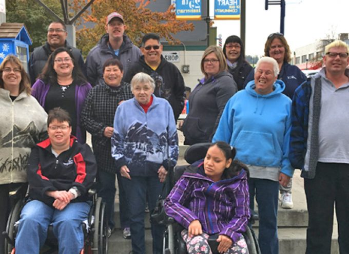 Quesnel Self Advocates walk to raise awareness