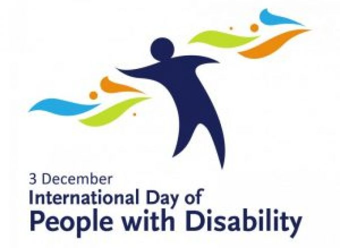 International Day of People with a Disability Dec 3rd 2016