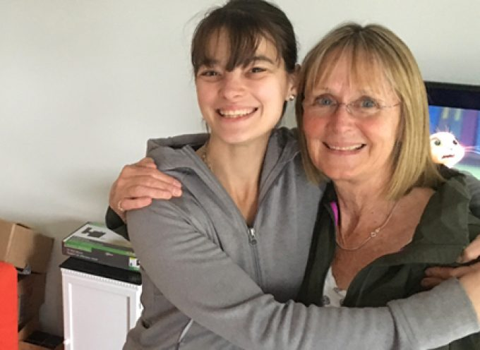 Moving out: Two daughters achieve their dream