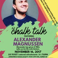 Ted Talk with Alexander Magnussen, Nov 16th