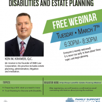 Disabilities and Estate Planning Webinar with Ken M. Kramer, Q.C from KMK Law Corporation!