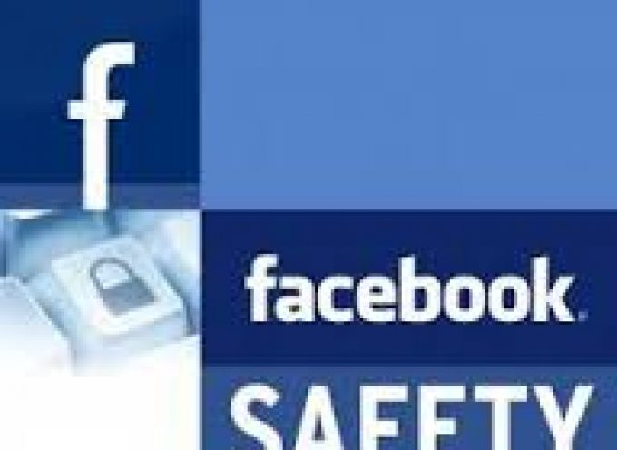 Facebook Safety Tip
