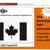 The Kamloops Self Advocates Newsletter June 2017 Edition