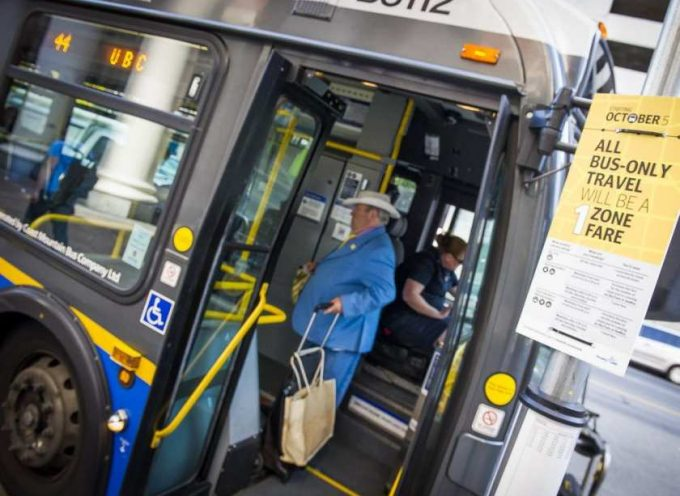 Nickels and dimes: small TransLink fare hike coming July 1