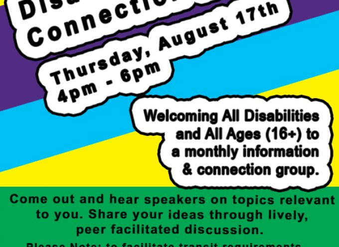Disabled Community Connection Network (DCCN)