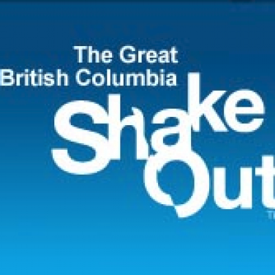 """Are you prepared for """"The Big One?"""" Participate in the Great Canadian Shakeout today 10:19 am."""