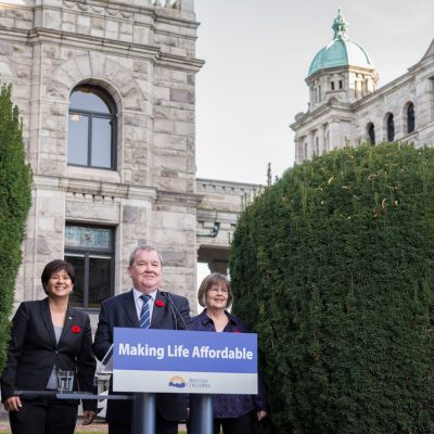 Getting to work on B.C.'s first Poverty Reduction Strategy