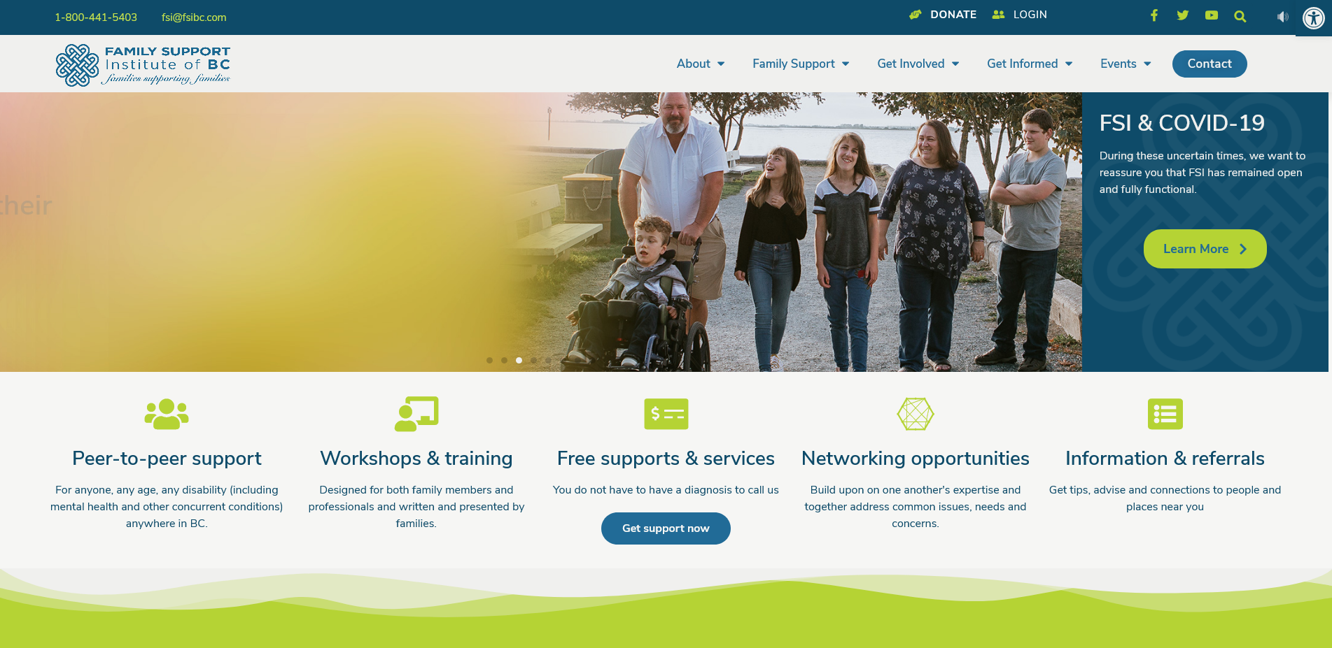 Family Support Institute – Strengthening and Connecting Families