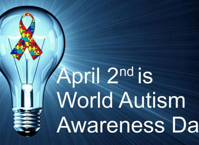 World Autism Awareness Day is April 2, 2018