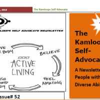 The Kamloops Self Advocates Newsletter April 2018 Edition