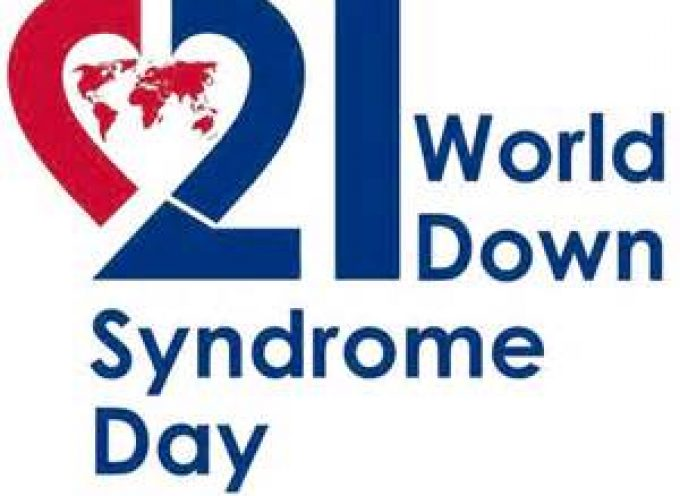 World Down Syndrome  Day March 21st,2019