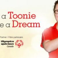 Special Olympics Canada and Staples Canada Give a Toonie.Share a Dream Fundraiser. April 21 to May 21, 2018