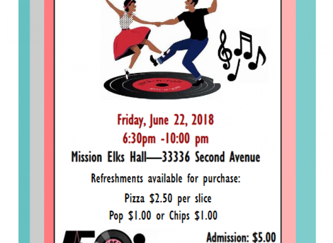Mission Self Advocacy Group Presents 50s Dance Fundraiser