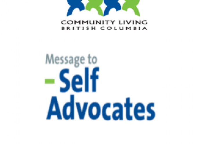 CLBC March,2019 Message to Self Advocates
