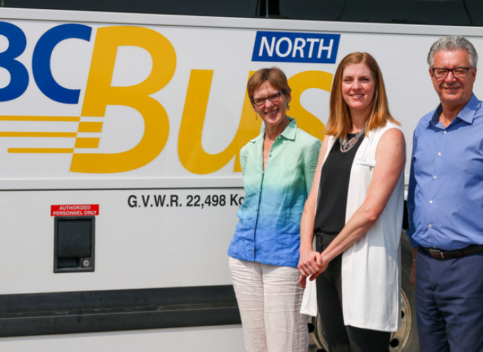 Steady ridership climb for new BC Bus North service