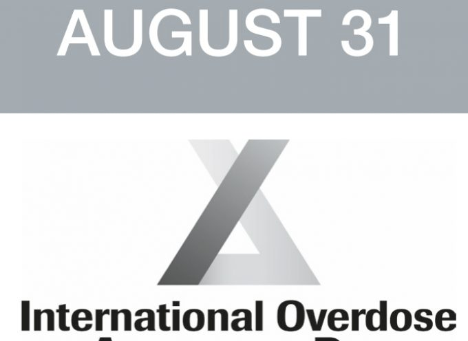 International Overdose Awareness Day August 31st, 2018
