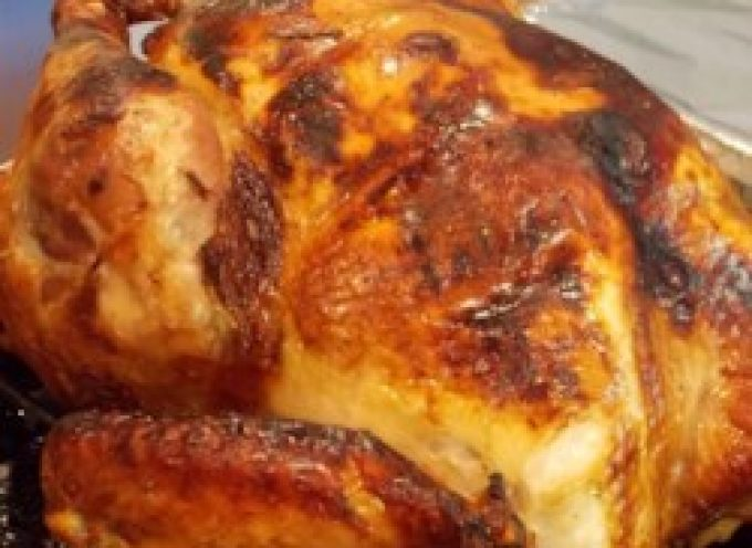 Lauren's Apple Cider Roast Turkey