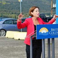 Affordable rental homes under construction in Williams Lake