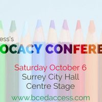 BCEdAccess is presenting their third Annual Advocacy Conference