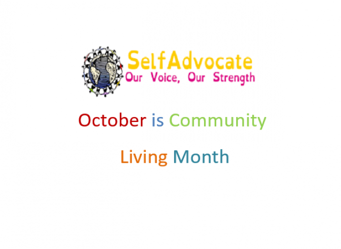 October is Community Inclusion Month! 2018
