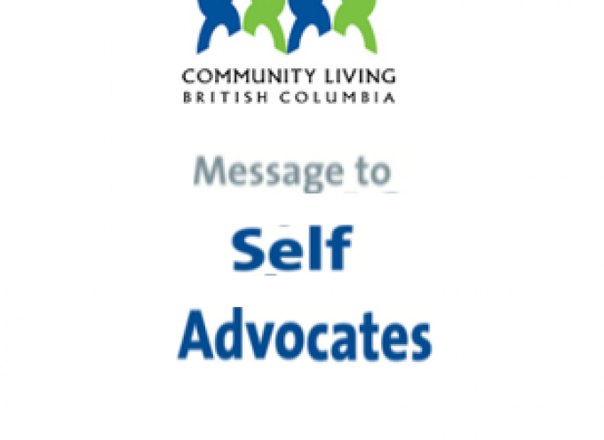 CLBC December,2018 Message to Self Advocates